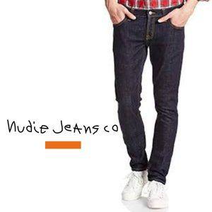 Nudie Tight Long Johns - 30W x 34L - Black Alchemy